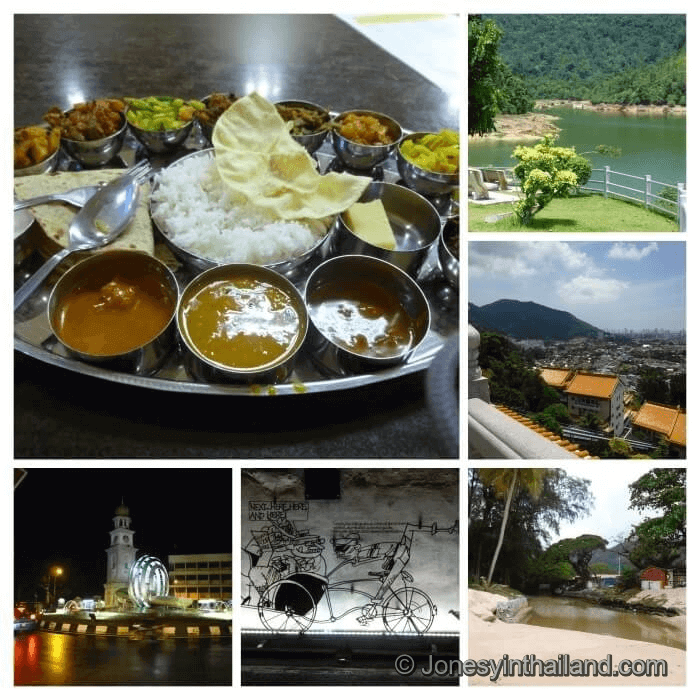 collage about Penang