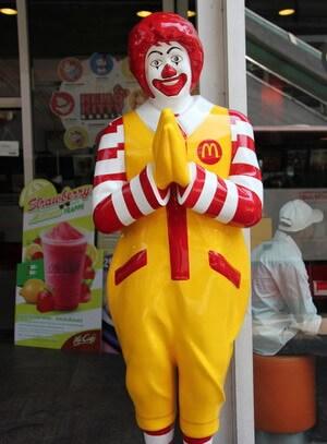 ronald mcdonald Bangkok Thailand